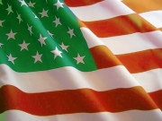 Green bandiera Usa